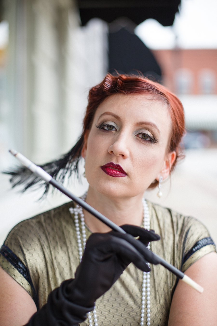 1920s inspired makeup by Michelle Clark