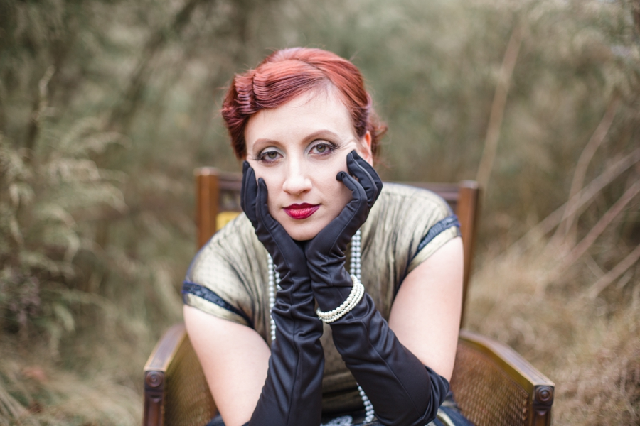 1920s inspired portrait photography, raleigh nc
