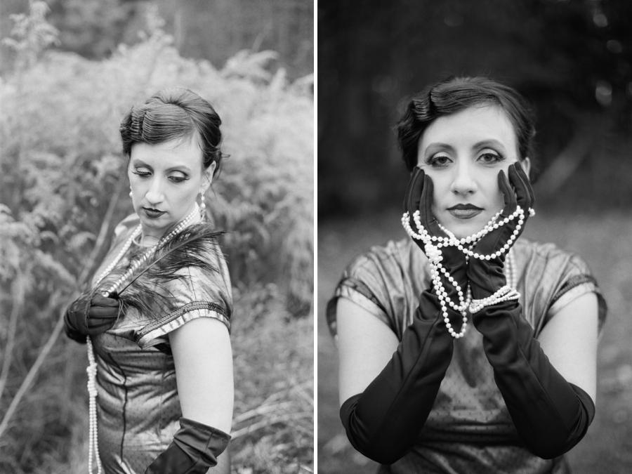 1920s flapper, vintage portrait photographers