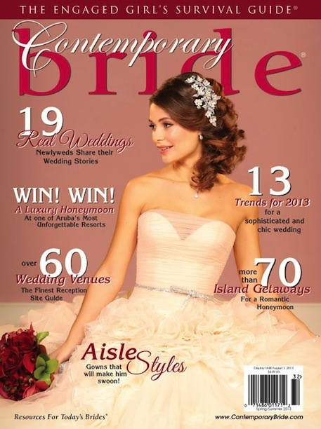 Contemporary Bride Spring – Summer 2013