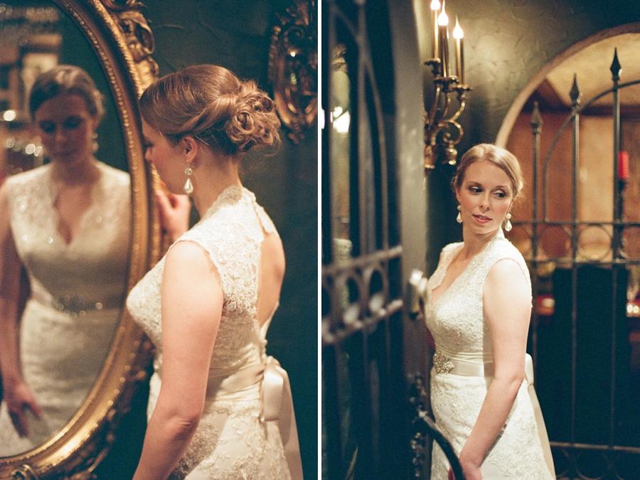 vintage bridal portraits, fine art wedding photography