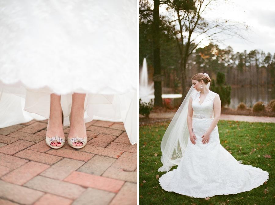 bridal shoes, angus barn wedding photography