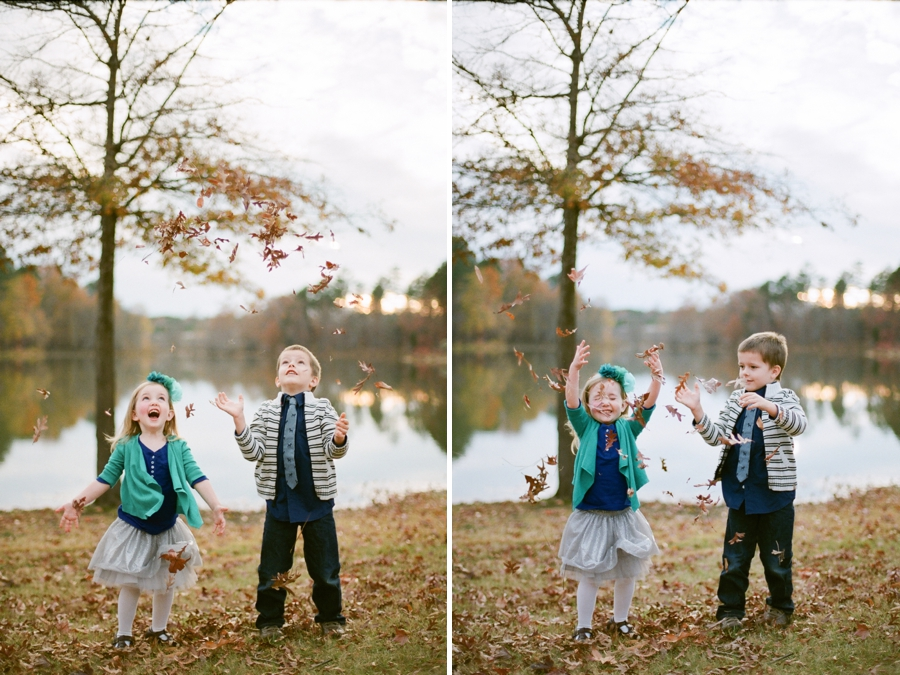 fall family photography, southern film photographers
