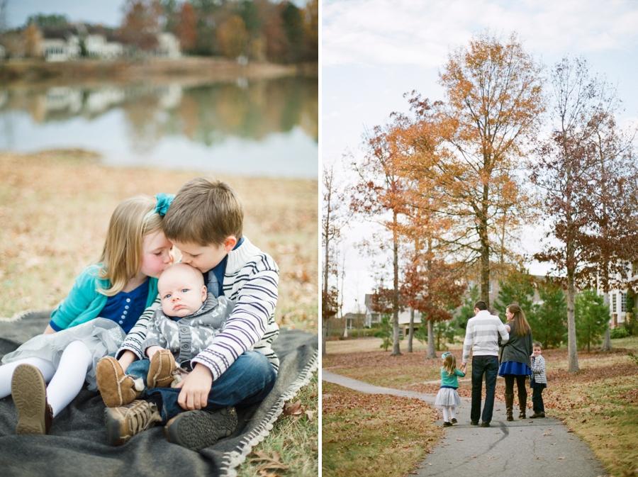 autumn family photography, nc film portrait photographers