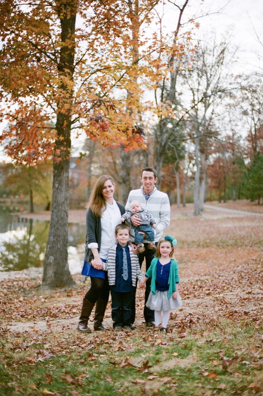 autumn family photography, raleigh nc
