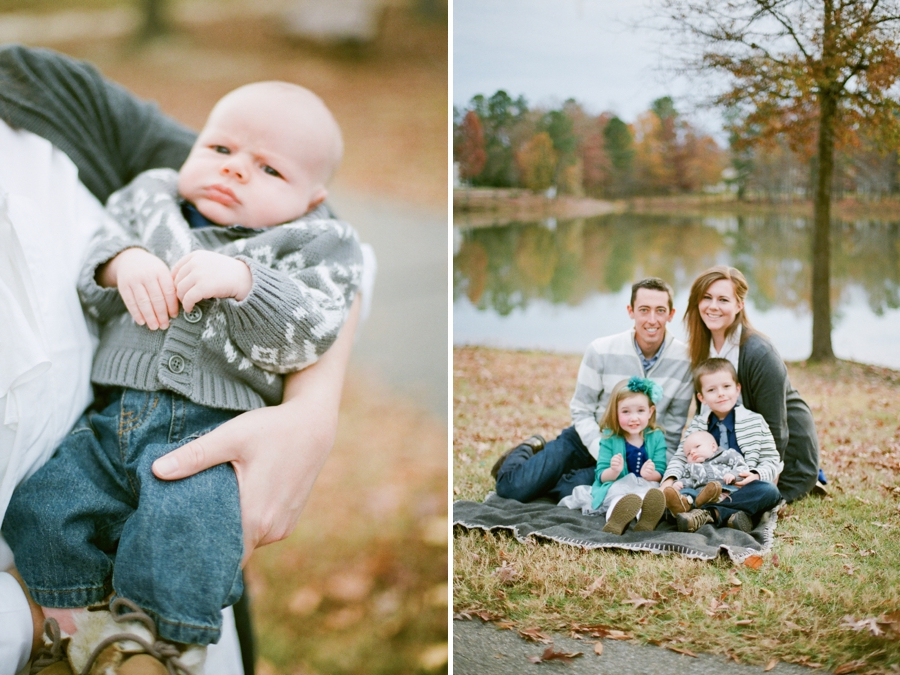 southern film photography, autumn family photographers