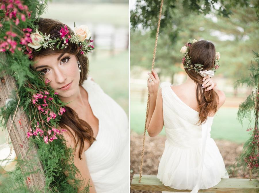 bohemian bridal photography, vintage wedding photographers