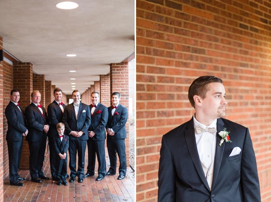 groomsmen at the church, groom photography