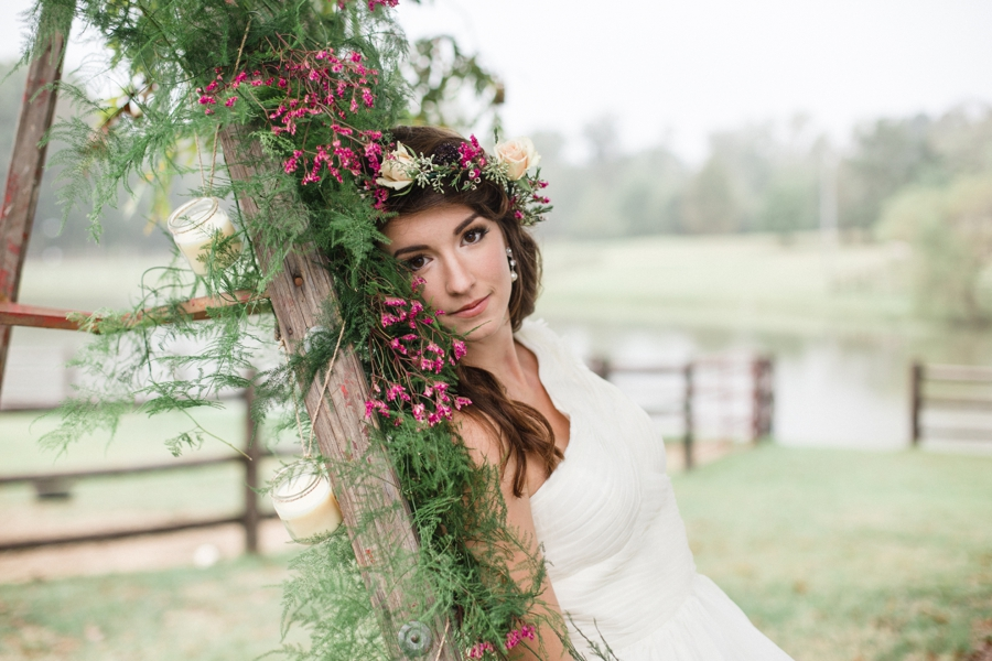 bohemian bridal photography, raleigh nc