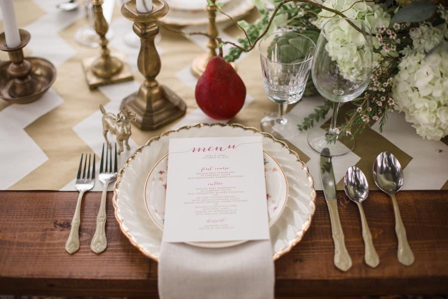 bohemian inspired wedding reception