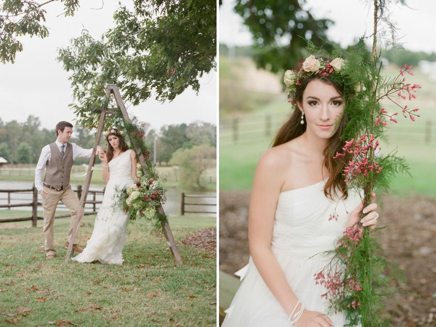 fine art wedding photography, bohemian bridal photographers