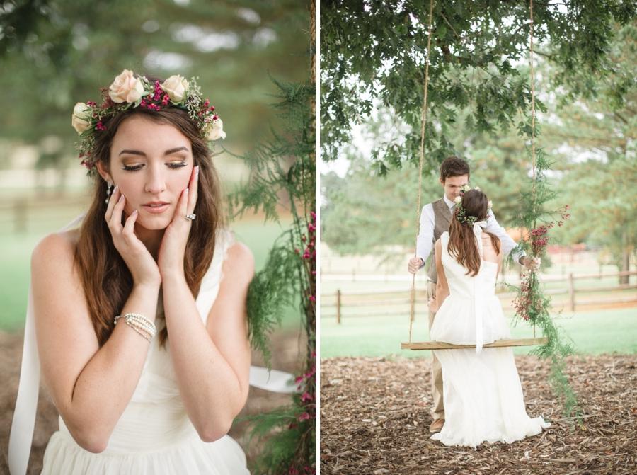 southern bridal photography, romantic wedding photography