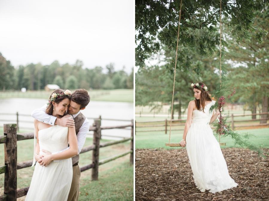 romantic wedding photography, southern bridal photographers