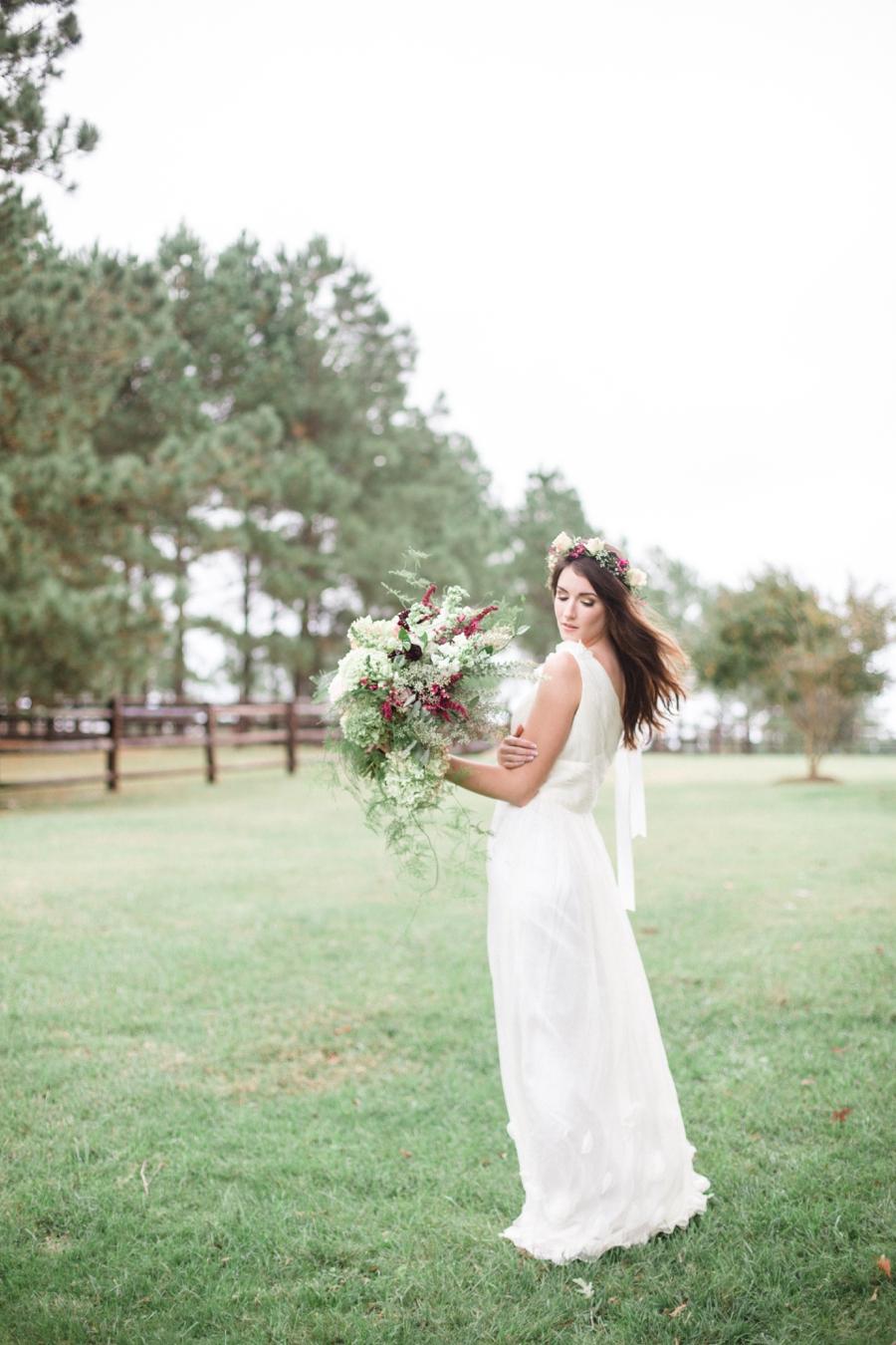 vintage bridal photography, north carolina