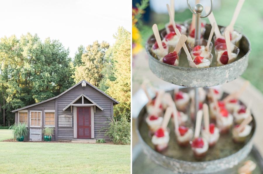 orange county nc wedding photographer, fig and honey tart treats