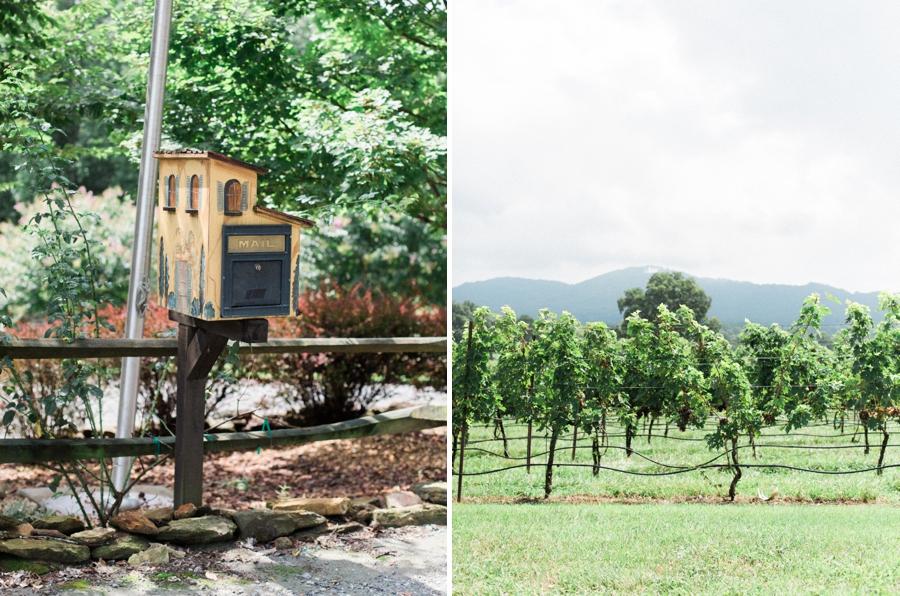 italian villa mailbox, italian vineyard wedding photographer