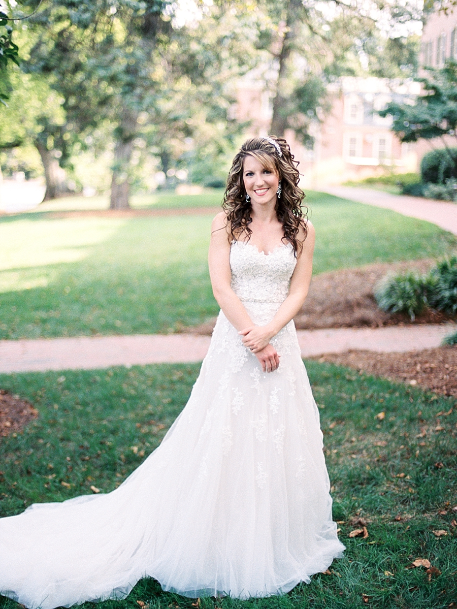Chapel Hill Film Wedding Photography
