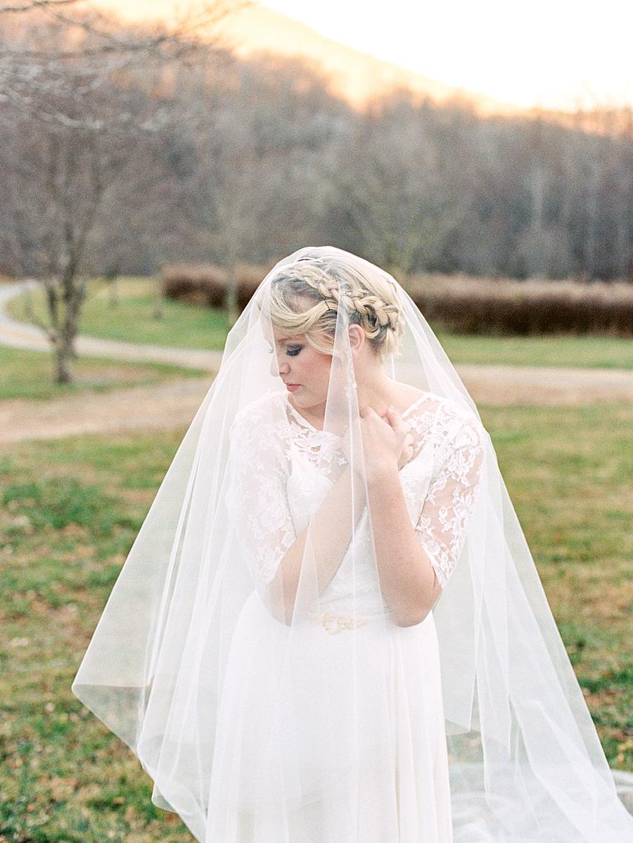 Mountain Fine Art Wedding Photography