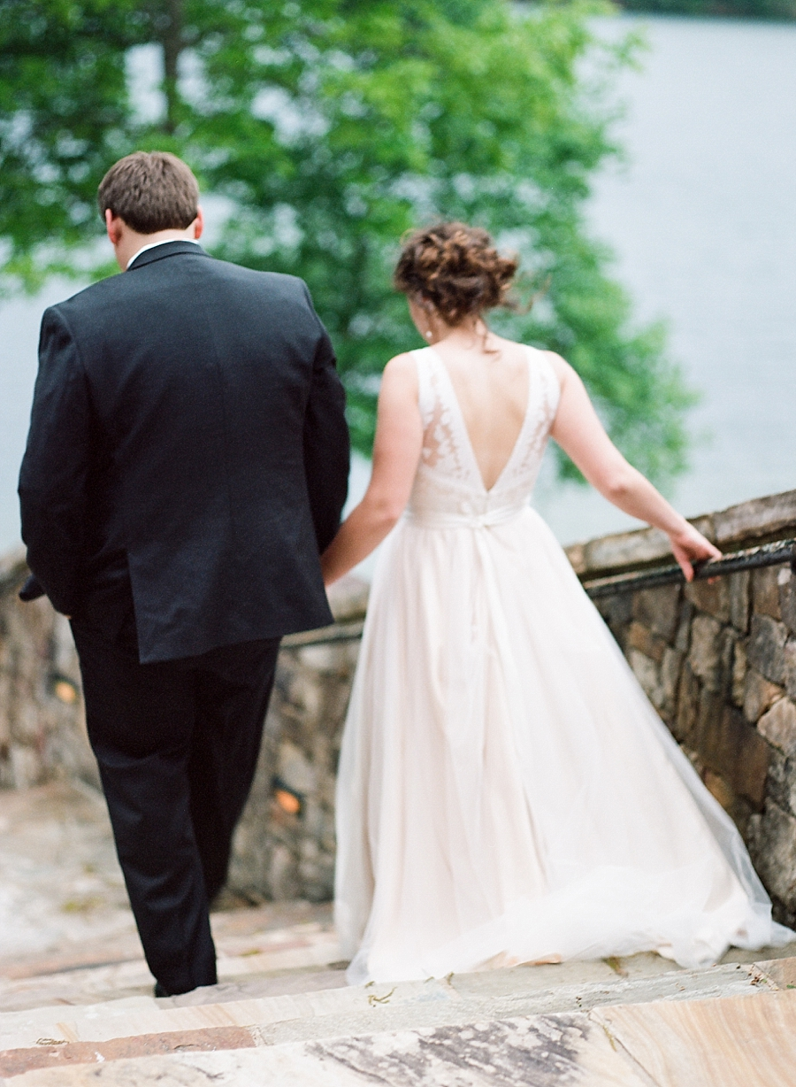 Asheville Highlands NC Fine Art Film Wedding