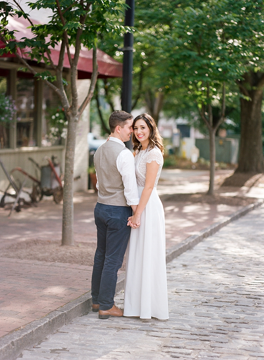 Raleigh Film Engagement Photography