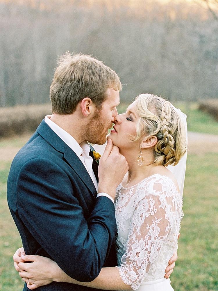 appalachian mountains fine art film wedding photography