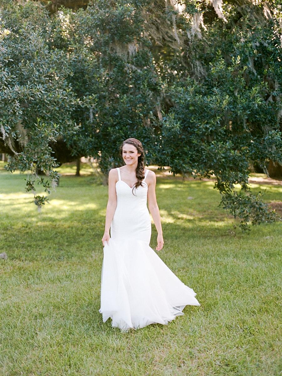 Charleston Fine Art Film Bridal Photography