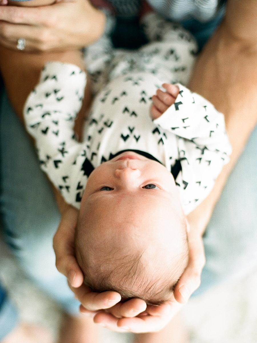 Fine Art Film Newborn Photography