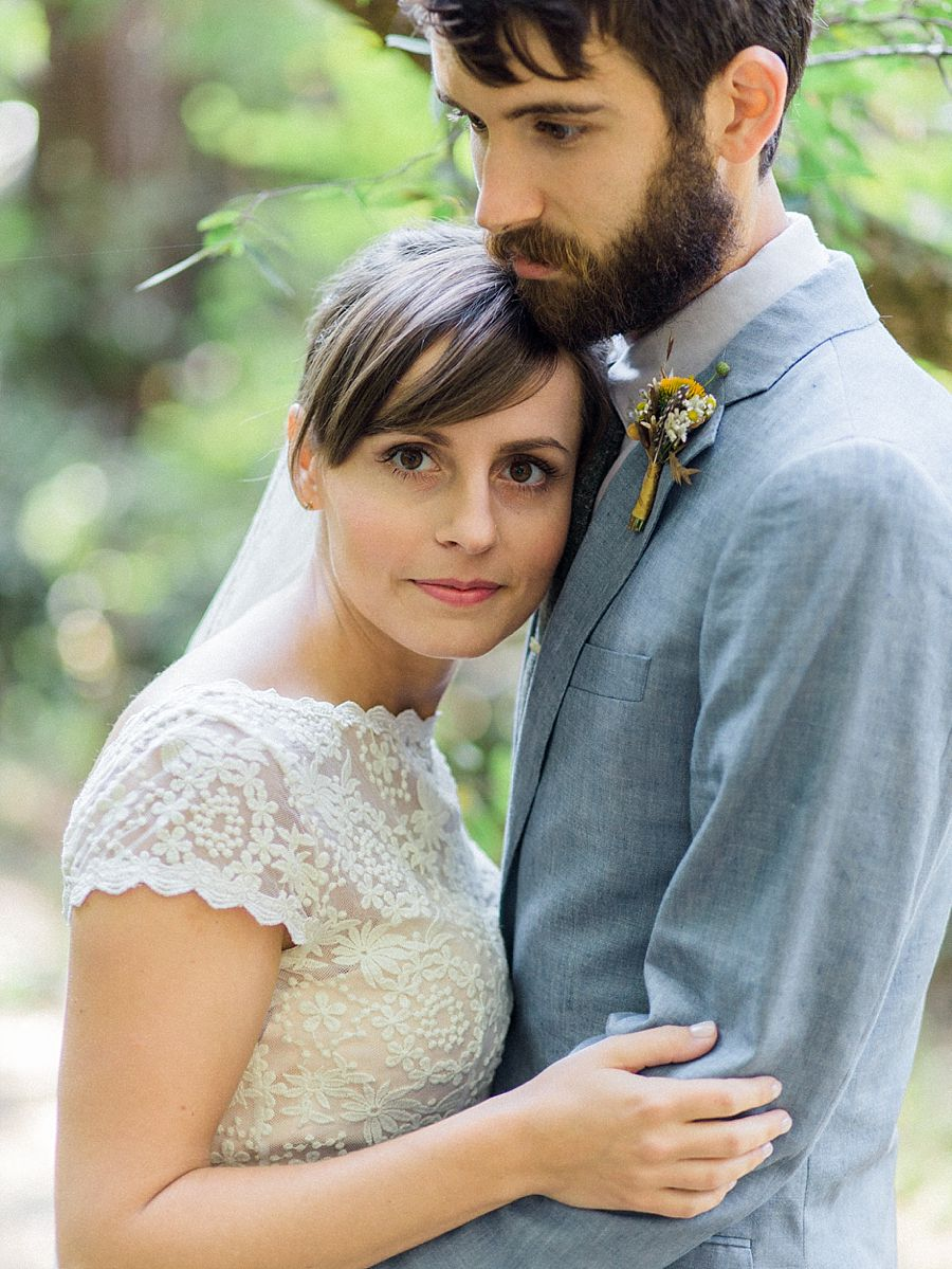 Intimate River Wedding