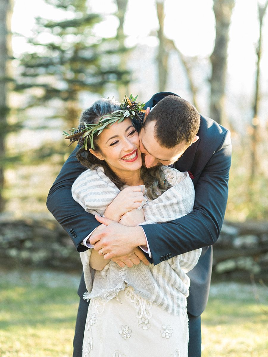 Rustic Mountain Wedding Photography