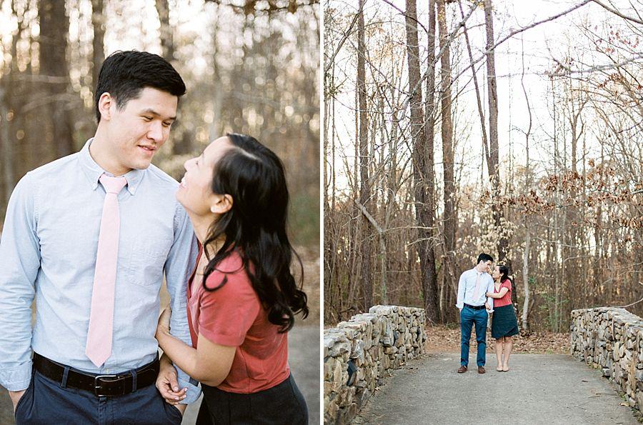 Raleigh Chapel Hill Engagement