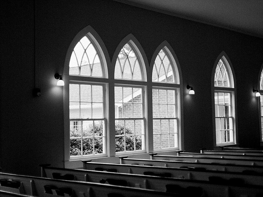 White Chapel Wedding