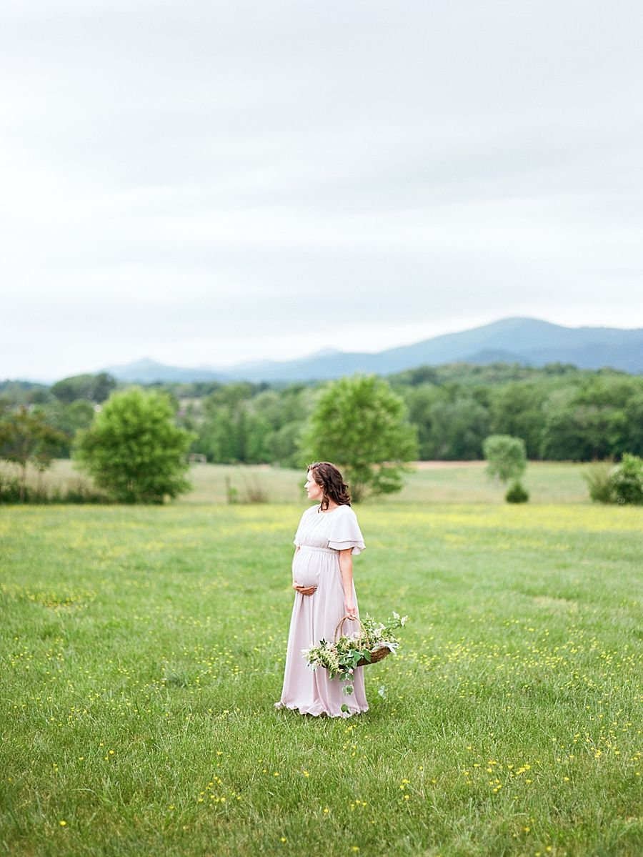 Mountain Maternity Session
