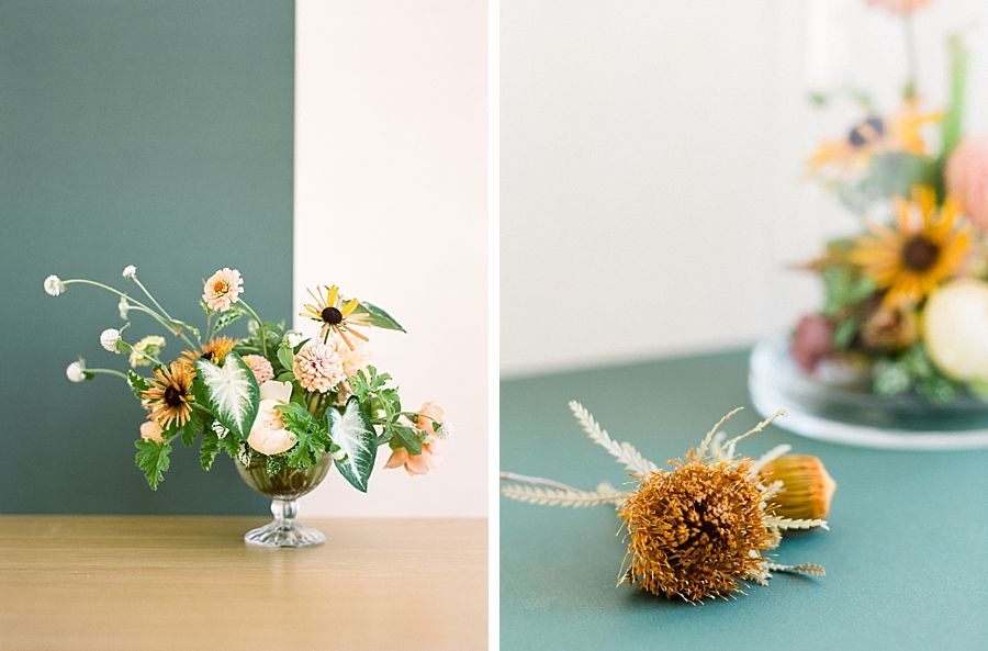 Floral Detail Editorial Styling
