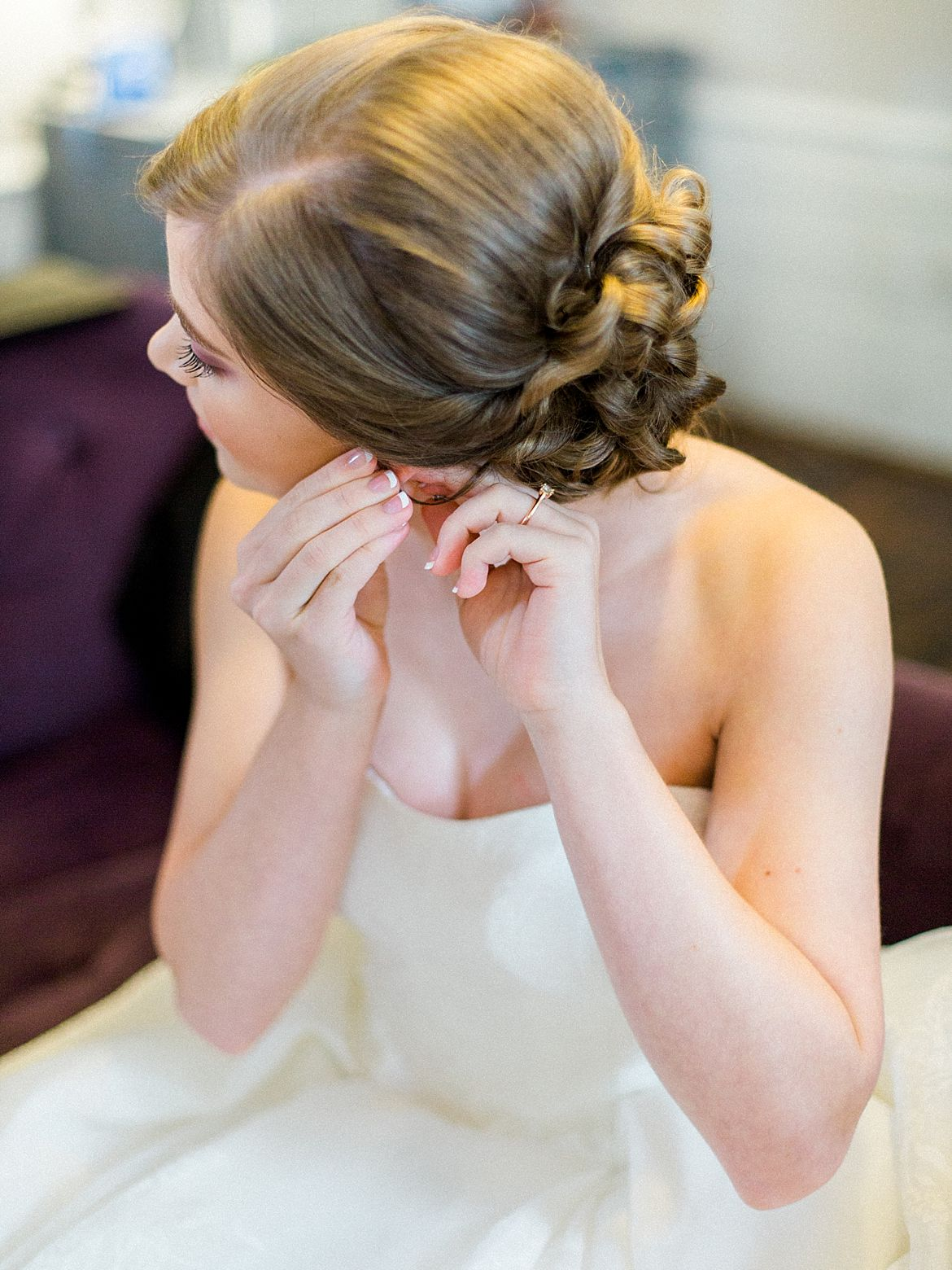 Intimate Raleigh Wedding