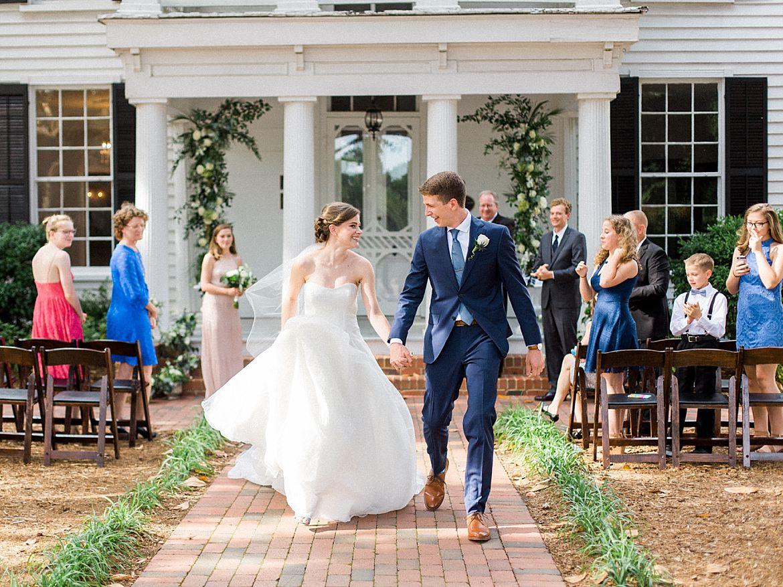 Intimate Raleigh Wedding