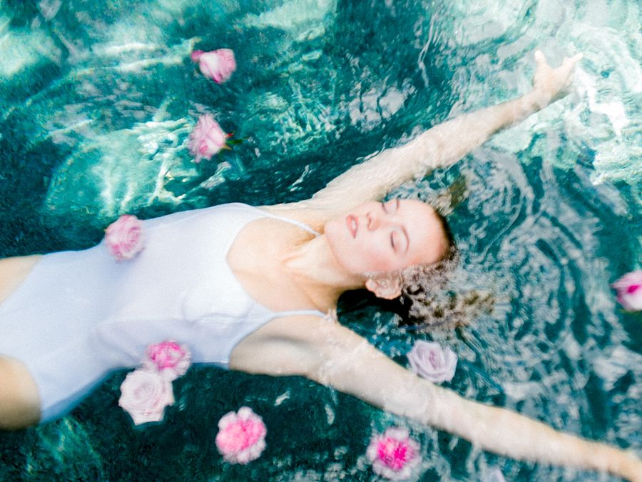 Underwater Dance Editorial Inspiration