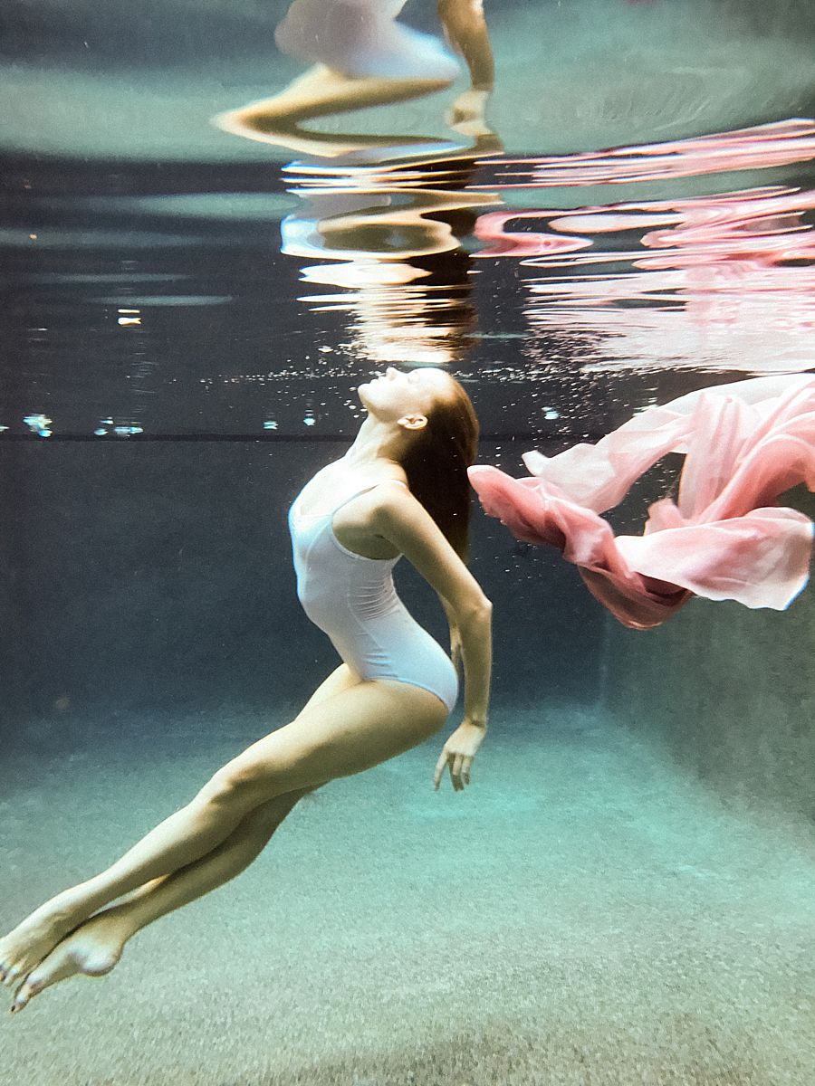 Underwater Editorial Portraits